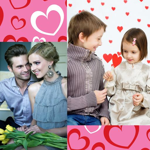 Valentine Day Collage