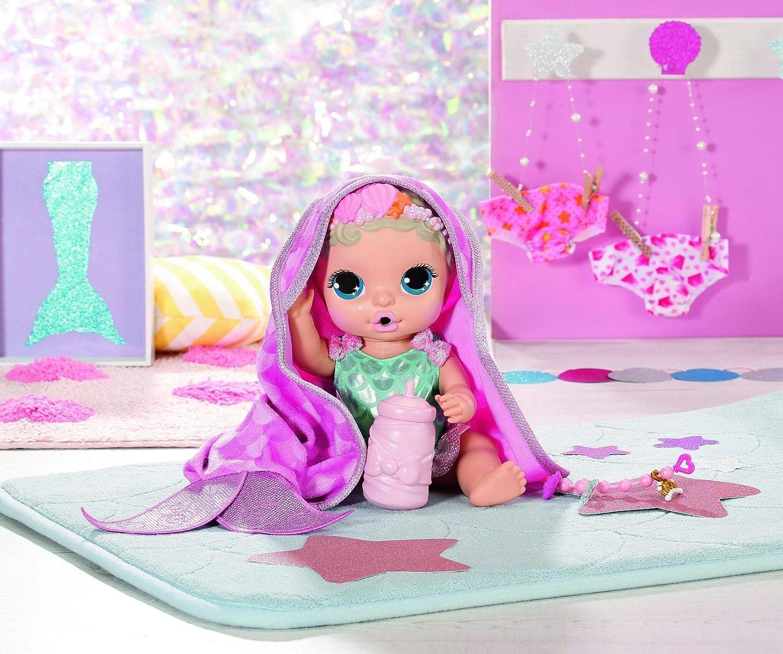 UK LTD 28cm Puppe mit 10 /Überraschungen inkl BABY Born ZAPF Creation Badewanne 904428 Surprise: Mermaid Surprise