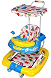 Her Home 7-In-1 Musical Baby Walker With Stroller & Umbrella