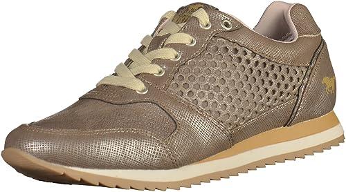 Mustang - Zapatillas de casa Mujer , color marrón, talla 41 EU: Amazon.es: Zapatos y complementos