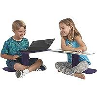 Ecr4kids le surf Portable Lap Desk/support pour ordinateur portable/table d'écriture, Aubergine
