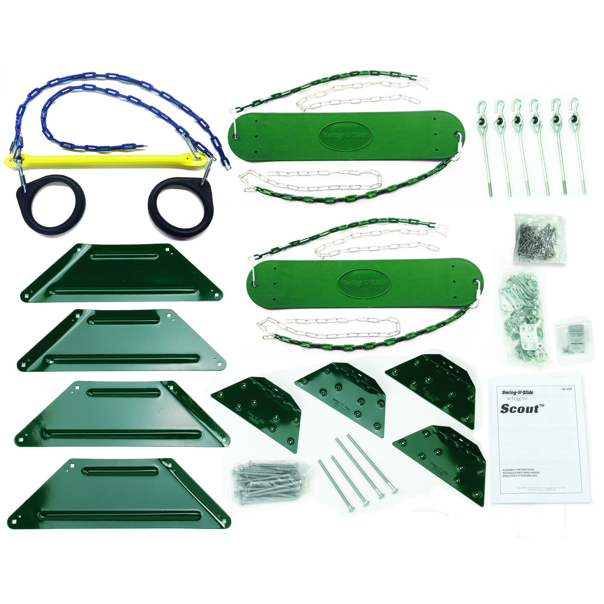 Scout Custom DIY Play Set Hardware Kit (wood not included) by Swing-N-Slide