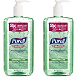 PURELL Advanced Hand Sanitizer -  Hand Sanitizer Gel with Refreshing Aloe, 1L Pump Bottle (Pack of 2) - 3081-02-EC