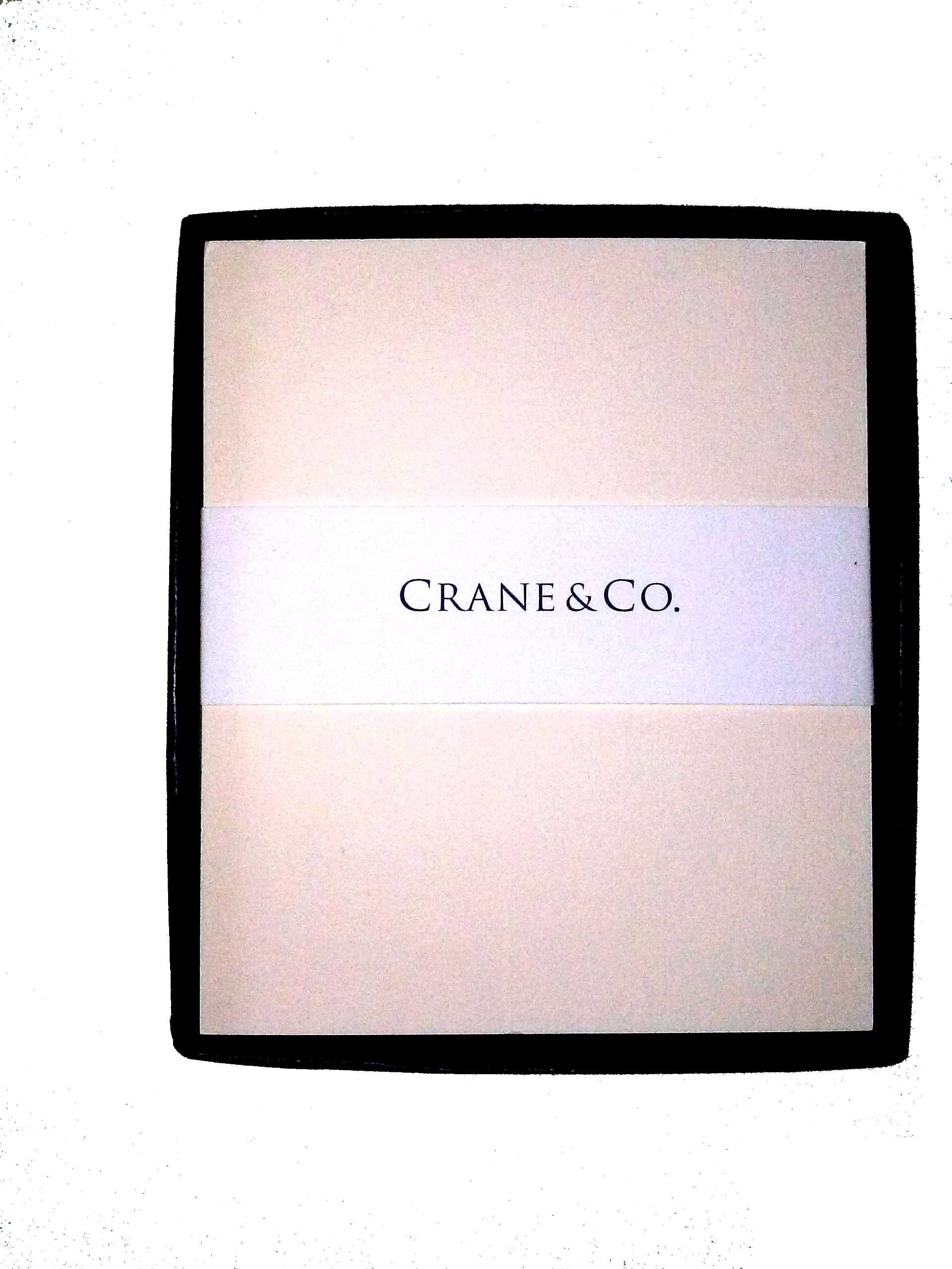 Crane & Co. Cardstock 3 1-2'' x 4'' Sold in Units of 25 Cards (Antique White)