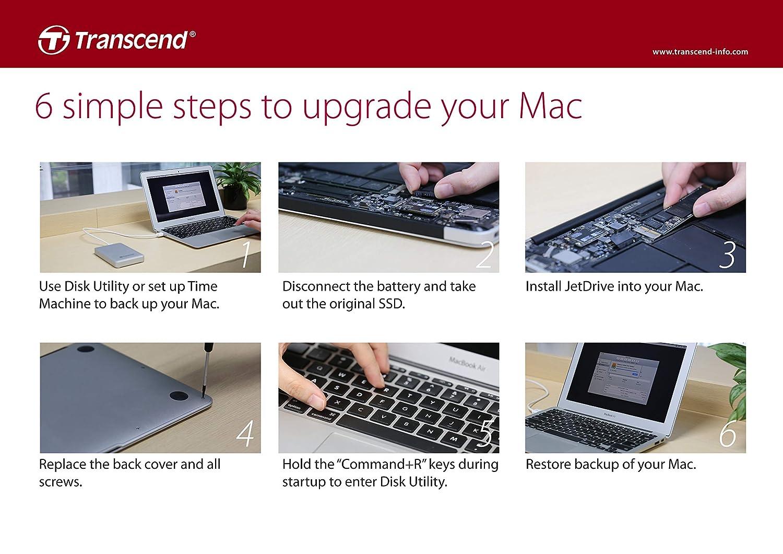 Dysk Ssd Transcend Jetdrive 850 Apple 480gb Pcie Ssd For Mac