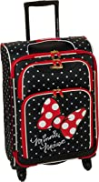 American Tourister Disney Minnie Mouse Red Bow Softside Spinner 21