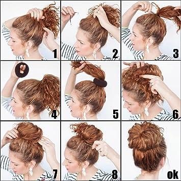 Amazon Com Qy 3pcs Hair Mesh Chignon Donut To Make Hair Bun Best