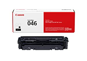 Canon Lasers 046 Toner Cartridge (Black, 1 Pack) in Retail Packaging