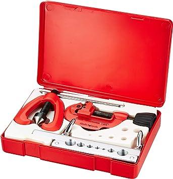 ROTHENBERGER 26054 - Conjunto abocinador 491+725 estuche plastico: Amazon.es: Bricolaje y herramientas