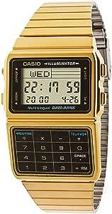 Casio DBC611G-1D Casio Gold & Black Digital Watch - Gold/One Size