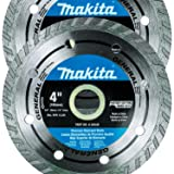 "Makita 2 Pack - 4"" Turbo Diamond Blades For"