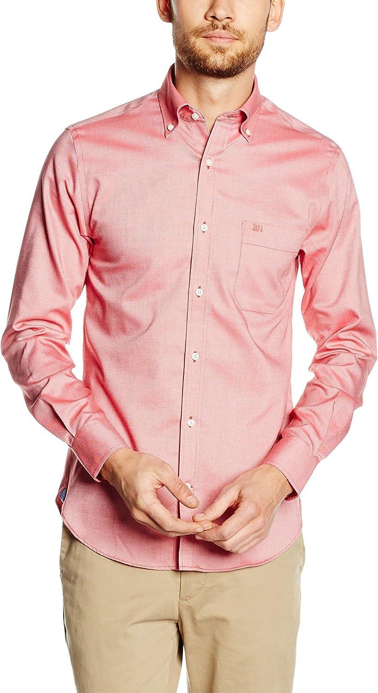 Pedro del Hierro Camisa Hombre Rosa S: Amazon.es: Ropa y accesorios