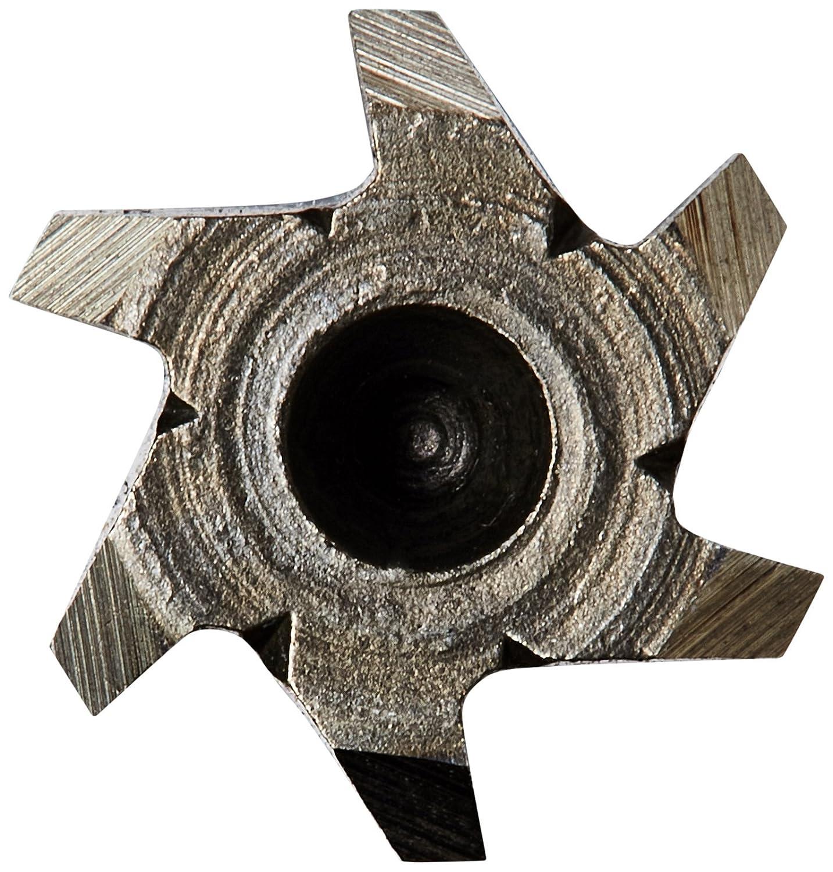 Drill America 11//32 High Speed Steel Straight Shank Spiral Flute Chucking Reamer DWR Series