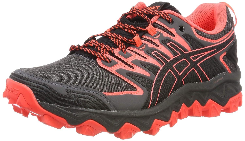 MultiCouleure (noir Flash Coral 001) 38 EU ASICS Gel-Fujitrabuco 7, Chaussures de FonctionneHommest Compétition Femme