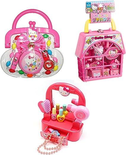4 juego de clips para el cabello de Hello Kitty Para Niños Edad 3+