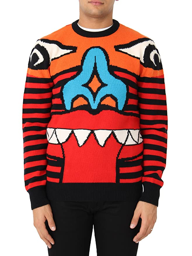 Givenchy Herren 17W7608515001 Rot Wolle Sweater: