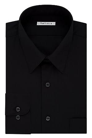 ce4dbaffbf321 Amazon.com  Van Heusen Men s TALL FIT Dress Shirts Poplin (Big and ...