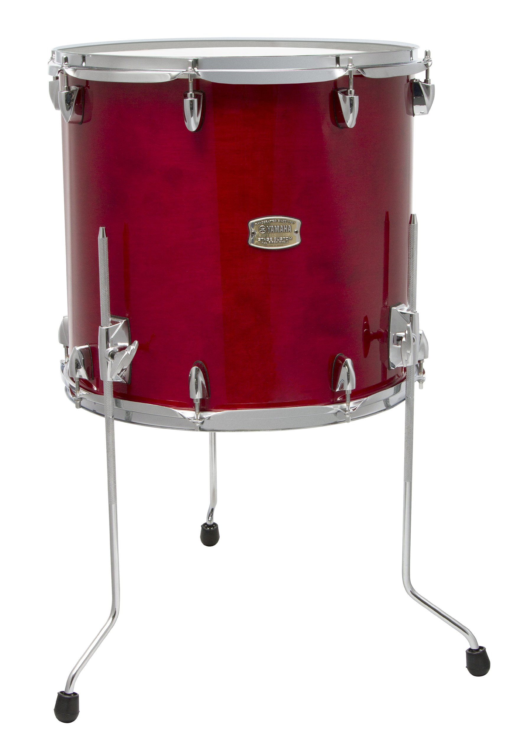 Yamaha Stage Custom Birch 18x16 Floor Tom, Cranberry Red