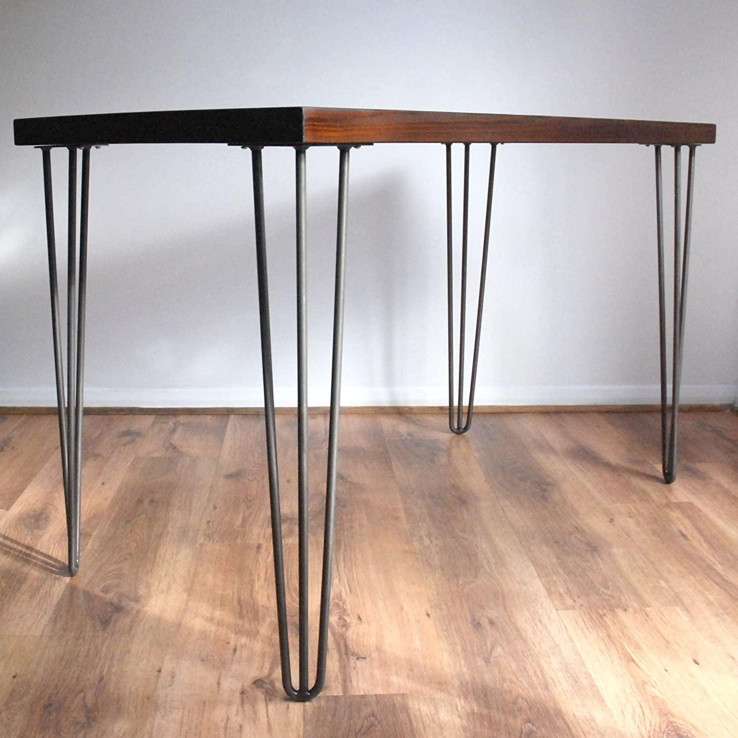 hairpin industrial desk listing walnut modern midcentury rustic il legs gold fullxfull office