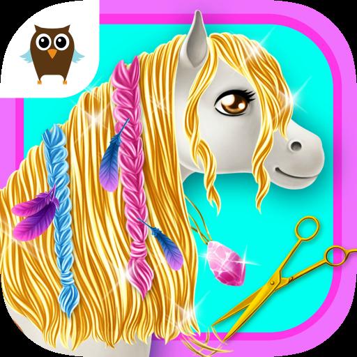 Princess Horse Club 3 - Magic Pony Care, Makeover & Royal Wedding Day