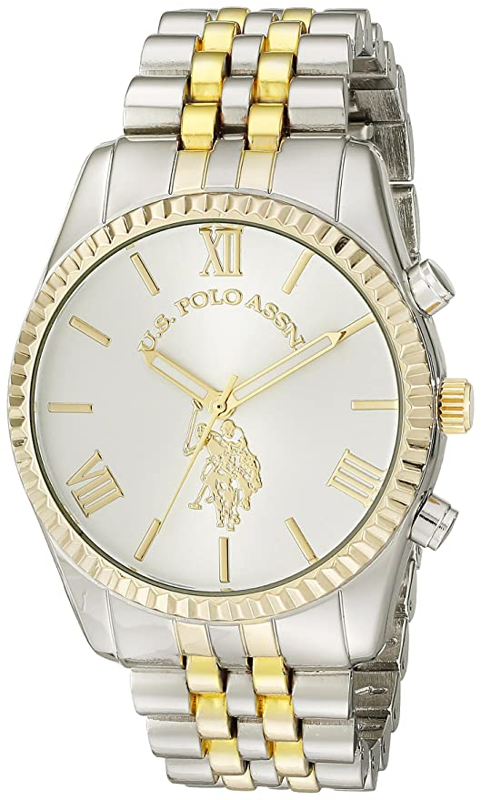 Amazon.com: U.S. Polo Assn. Mujer usc40057 Two-Tone Bracelet ...