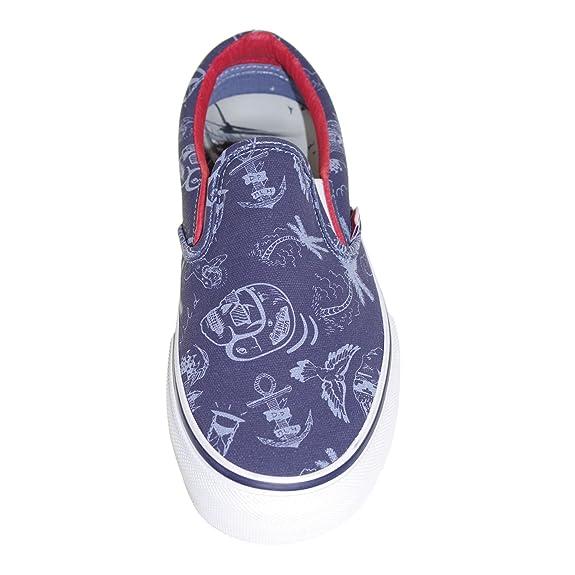 Vans Shoes - Slip ON PRO - Partaix Tattoo Stonewash 40db939b8