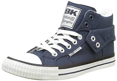 Damen ROCO Hohe Sneaker, Blau (Navy), 40 EU British Knights
