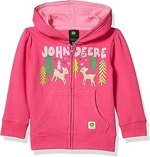 John Deere Girls Little Fleece Zip Hoody