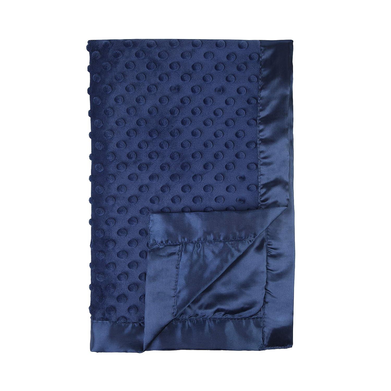Satin Baby Blanket Woodland Animal Silky Baby Blanket Minky and Satin Blanket Satin Blanket Silky Baby Blanket Silky Blanket