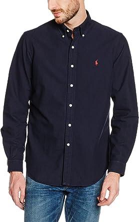 Polo Ralph Lauren Camisa Hombre Otoño/Invierno 16 Hemd Azul ...