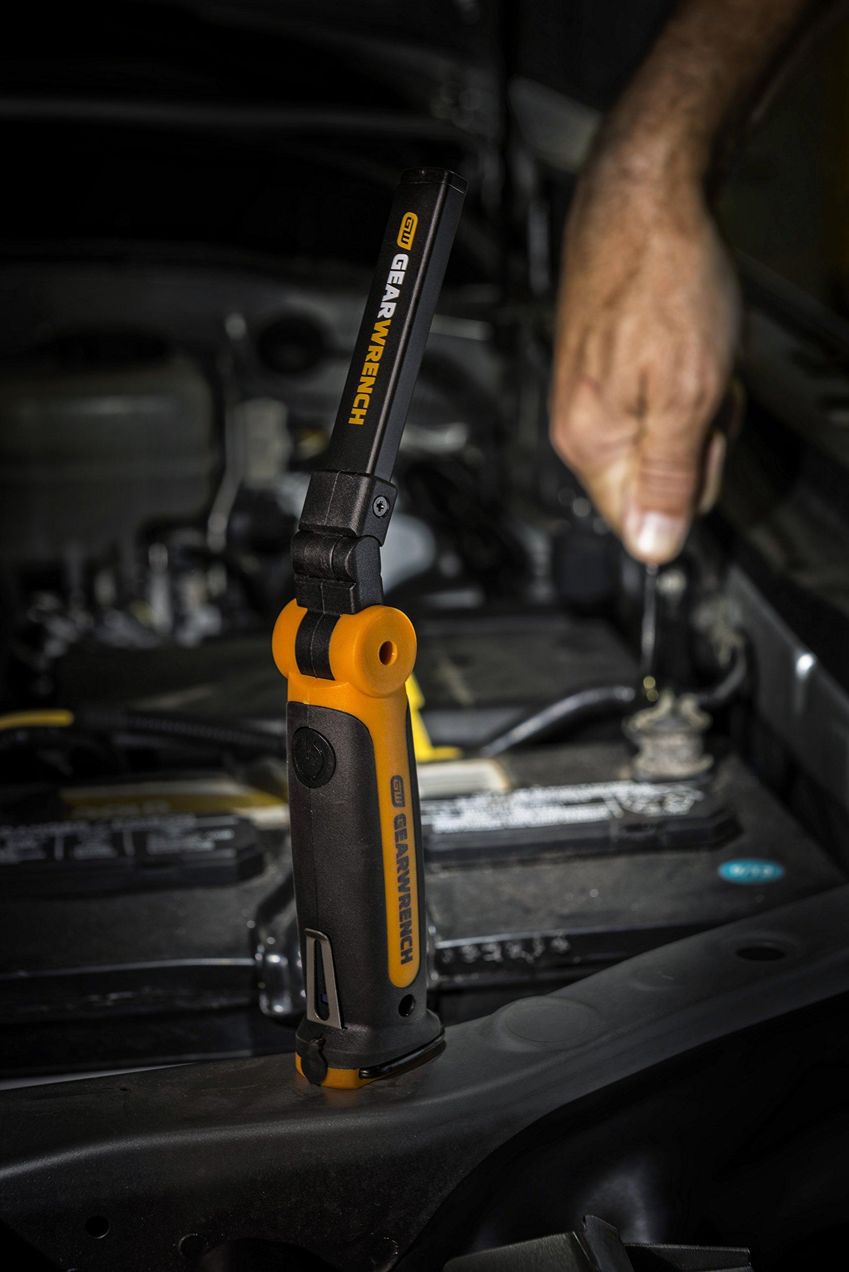 GearWrench 83134 150 lm Ultra-Thin Flex Work Light - 8''