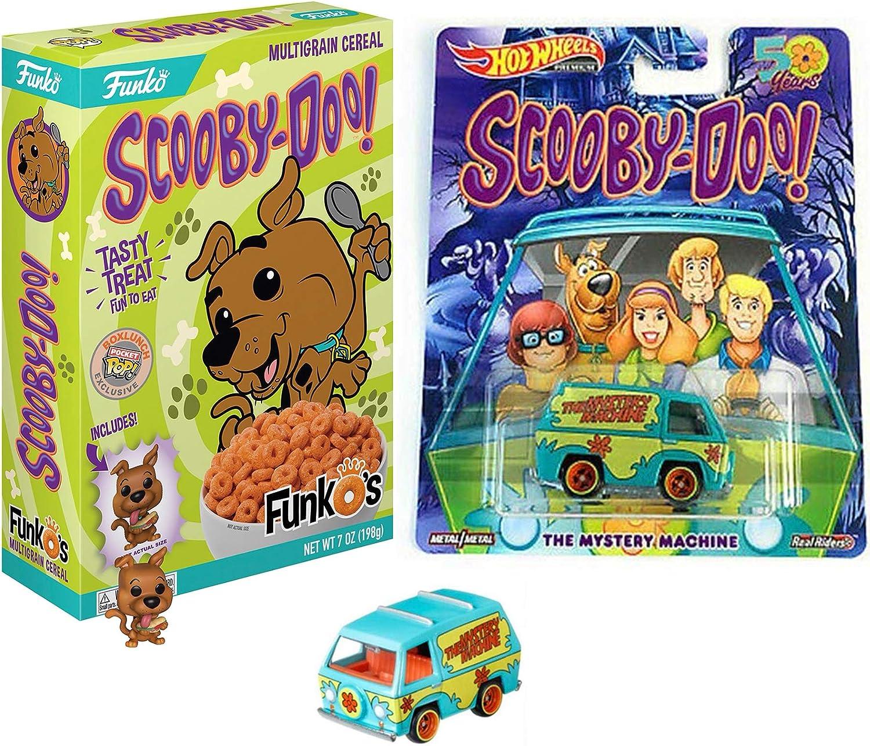 Adventures with Scooby & Gang Mystery Machine Van Pop Culture coche incluido con Mini Pop! Figura y caja exclusiva Funkos 2 artículos: Amazon.es: Juguetes y juegos