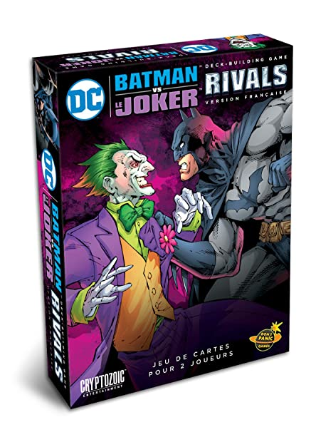 Amazon com: Don't Panic Games DC Comics Deck-Building Rivals, Batman