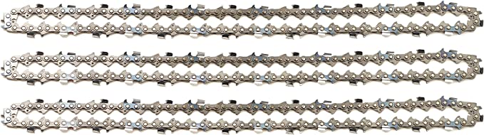 Halbmeißel Säge Kette 60TG 40cm 3//8 1,6mm passend für Stihl 036 MS360 Chain