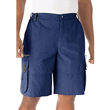 de3ff05574 Boulder Creek Men's Big & Tall Ripstop Expedition Cargo Shorts, ...