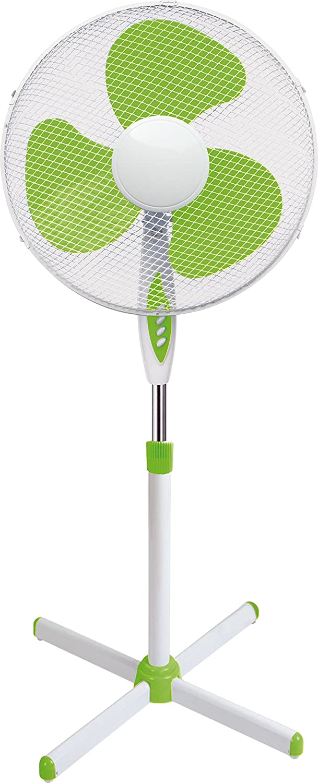 Howell VEP401VMQ Ventilador de pie, 45W, blanco/verde, 40x 130cm
