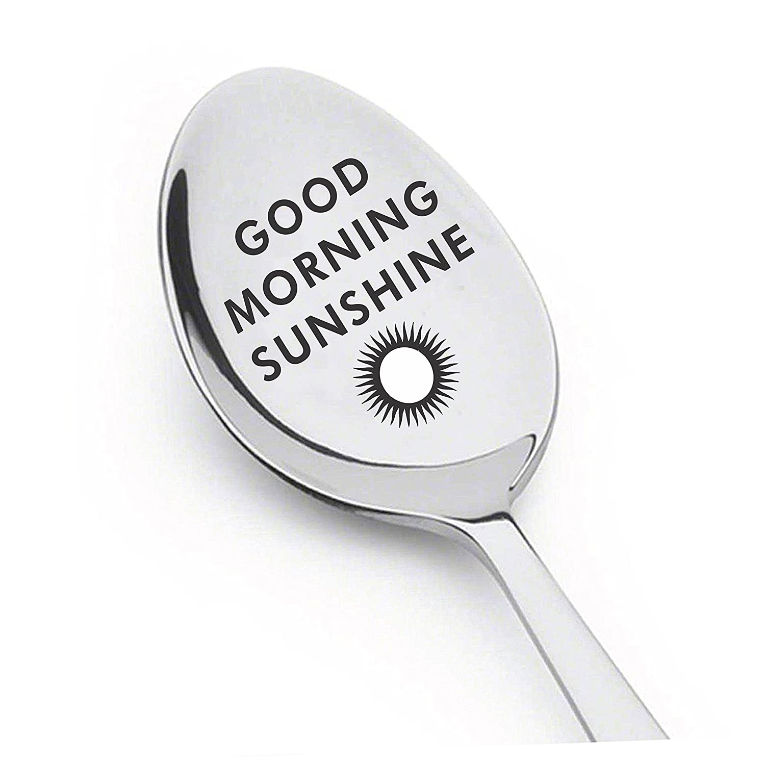 Good Morning Sunshine Spoon-Engraved spoon-Gifts ideas by LYF- Best Christmas gift