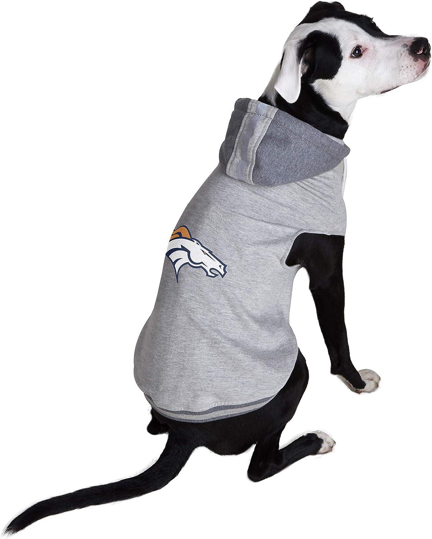 Large NFL Denver Broncos Team Dog Sweatshirt