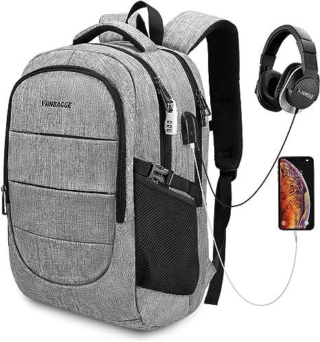 """Multifonctionnel Business Sac à dos 14/""""//15.6/"""" Pouces Imperméable Voyage Sac D/'ordinateur Portable"""