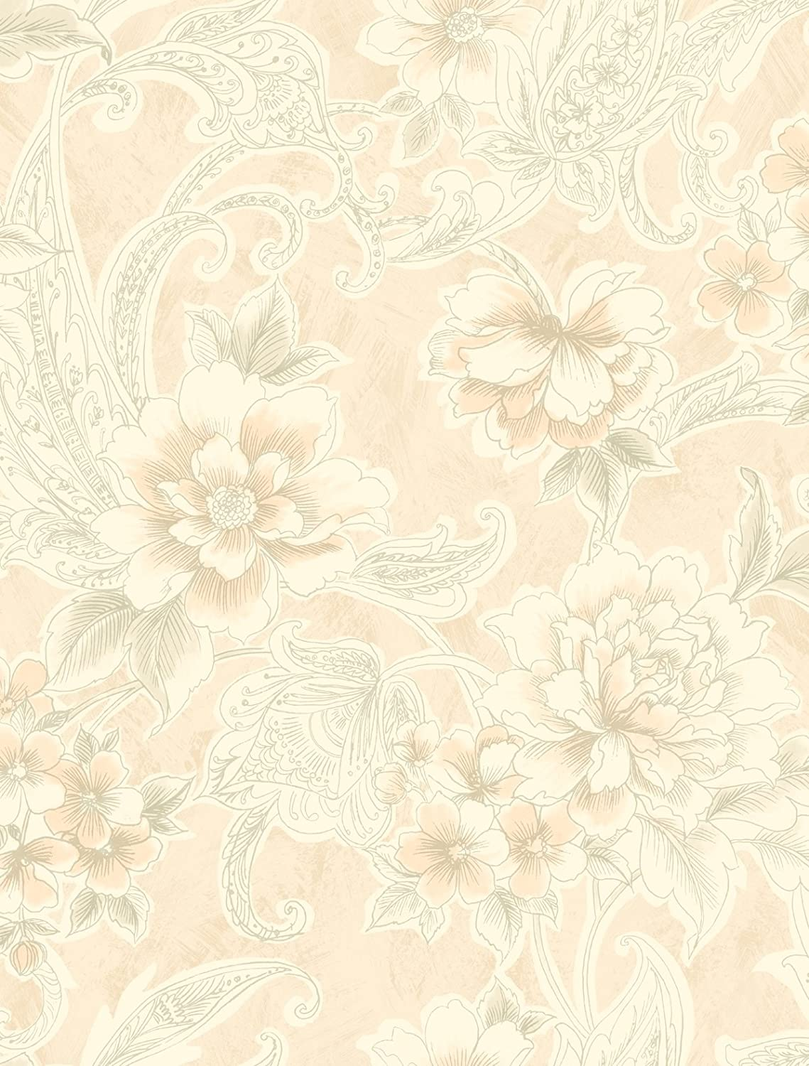 Pink Floral Wallpaperdamask Wallpaper Gold Damask Wallpaper Art