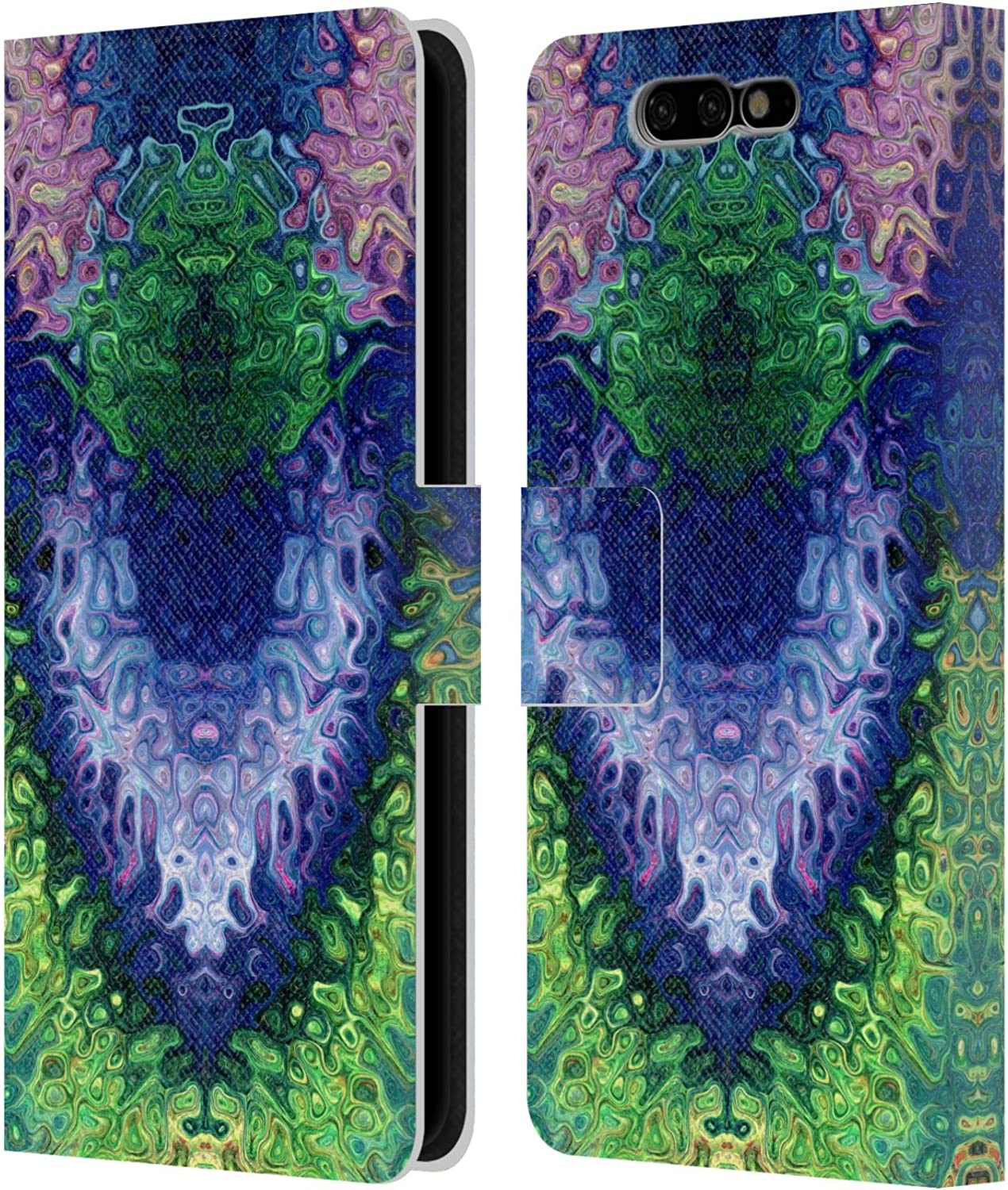 Official Joan of Art Light Starry Eyes Vivid Colours Leather Book Wallet Case Cover Compatible For Xiaomi Black Shark