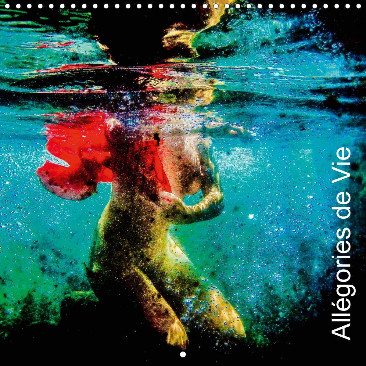 Allegories de Vie 2020: Images subaquatiques qui sont des allegories de vie.
