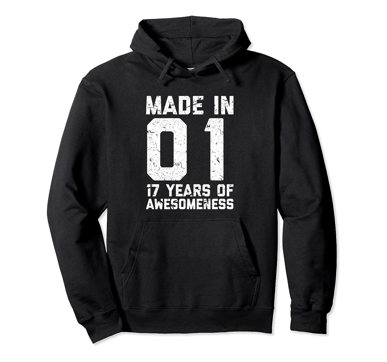 17th Birthday Hoodie Gift Girl Boy Age 17 Year Old Girls Ah My Shirt One