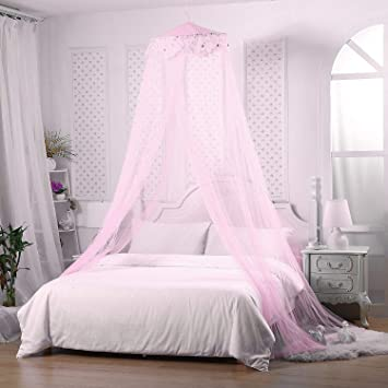 Moskitonetz Baldachin Spitze Bett Vorhange Prinzessin Kuppel Bett