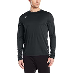6f2852f2a9ca Amazon.com   ASICS Men s Performance Run Long Sleeve Crew Top ...