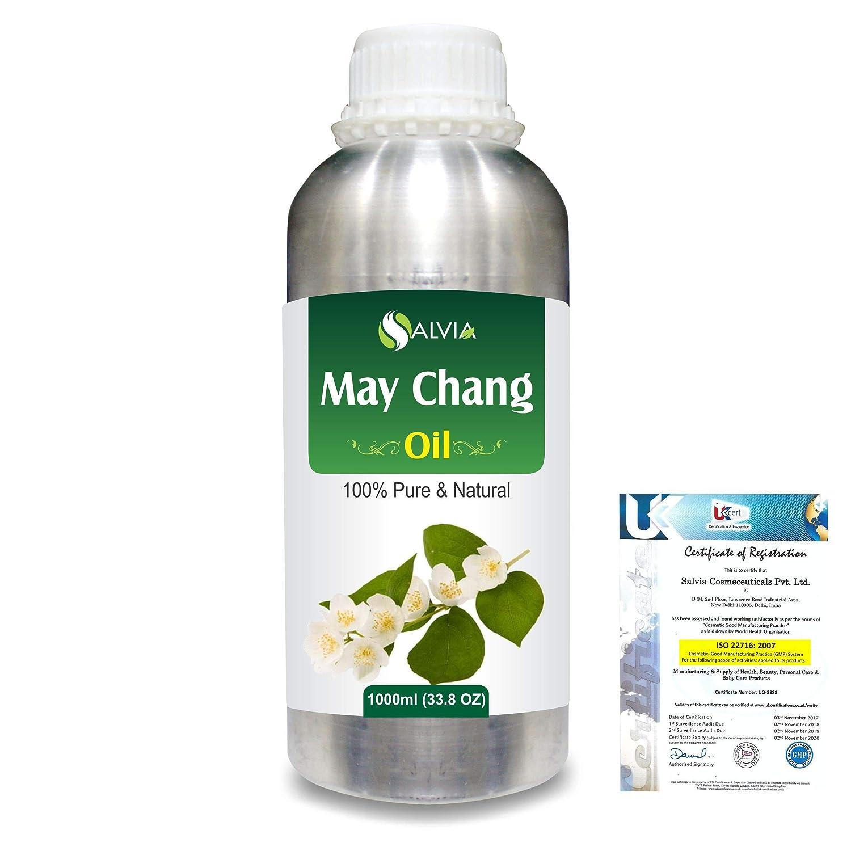 May Chang (Litsea Cubeba)100% Natural Pure Essential Oil 1000ml/33.8fl.oz. B07R2B26SQ