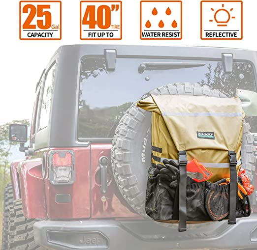 ALL-TOP Overland Series Spare Tire Bag