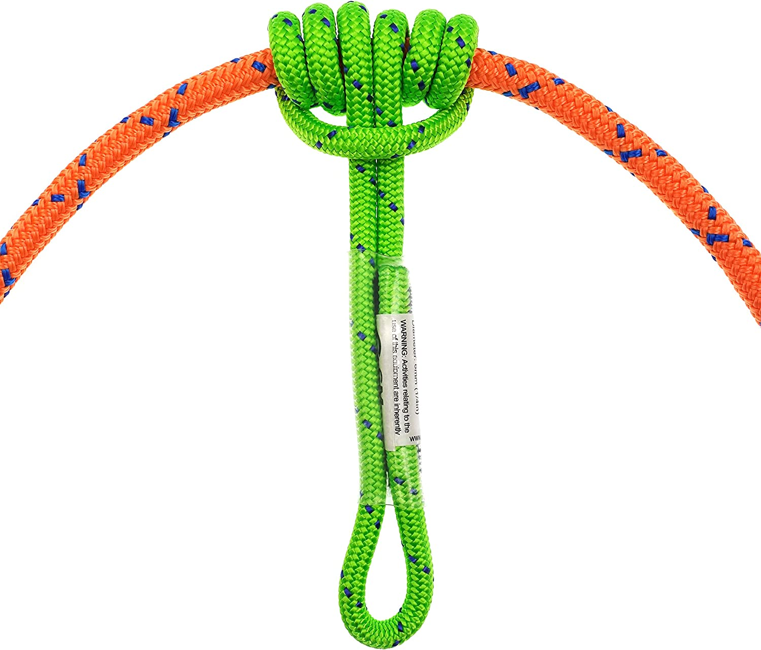 GM CLIMBING 6mm Prusik Cord Pre-Sewn 12in Prusik Loop | 48in Purcell Prusik for Climbing Arborist Rescue Mountaineering General Outdoor Use : Sports & Outdoors