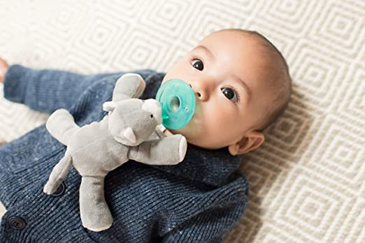 Amazon.com: WubbaNub Infant Pacifier - Grey Kitten: Baby