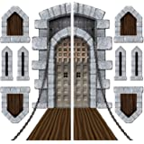 Castle Door & Window Props Party Accessory (1 count) (9/Pkg)